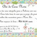Convite Cha De Casanova