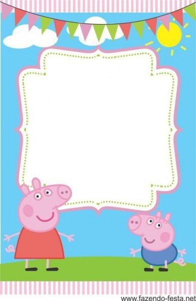 Convites Gratuitos Da Peppa Pig
