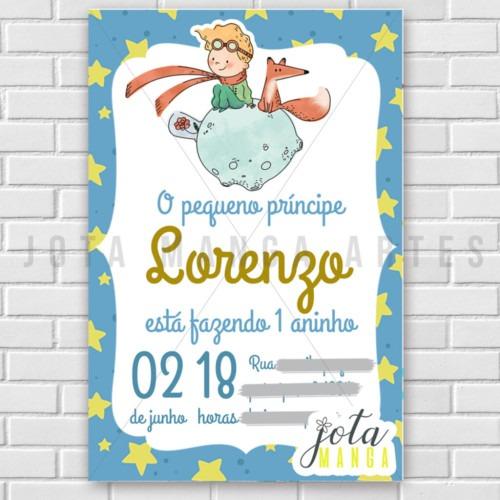 Convite Digital Pequeno Príncipe Na Rededots Com Br