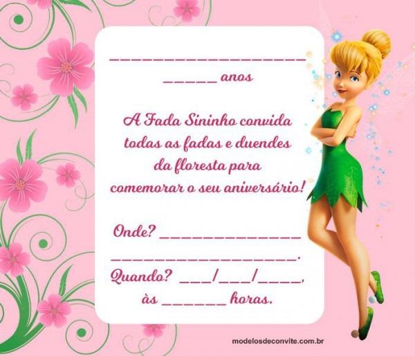 Pin Em Convites