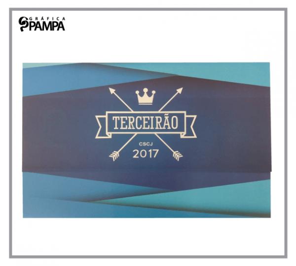 Convite Formatura Ensino Médio Terceirão Cs – Gráfica Pampa