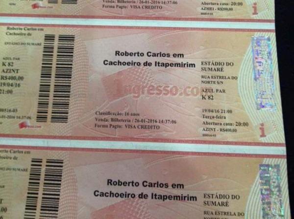 Vai Comprar Meia Entrada Para O Show Do 'rei' Roberto Carlos