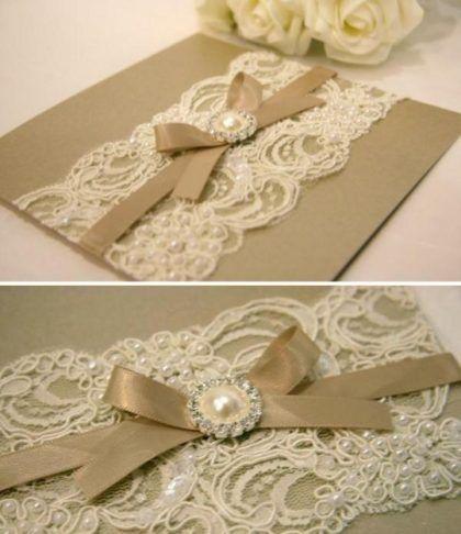 Modelos De Convites Luxuosos Para Casamento …