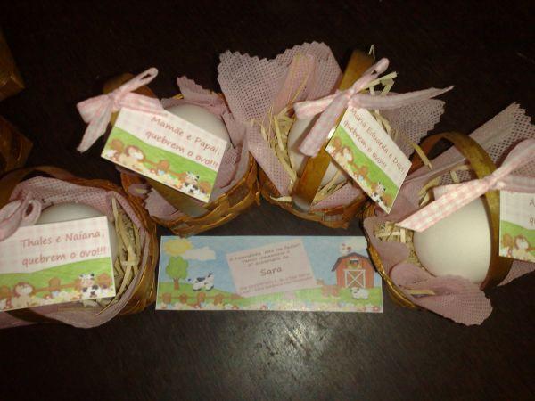 Convite Quebre O Ovo Fazendinha