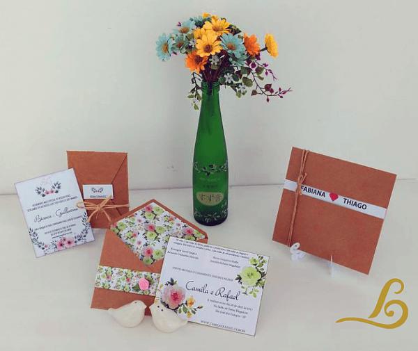 03 Convites De Casamento Editáveis Para Download Grátis + Molde Do