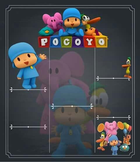 Pocoyo Chalkboard Diy