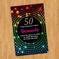 Anos 60 Convite