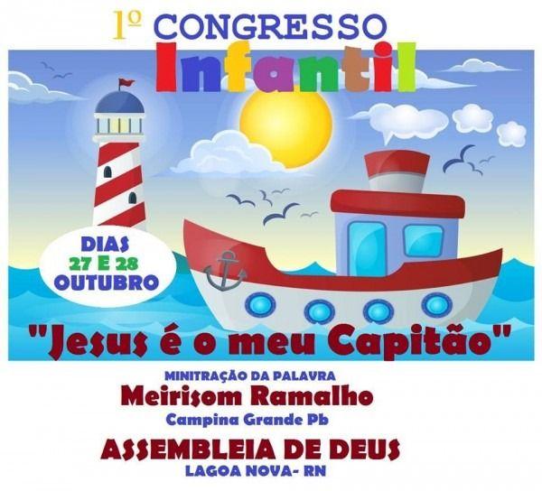 Convite Congresso Infantil