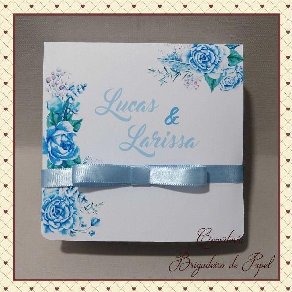 Comprar Caixa De Papel Para Convite De Casamento