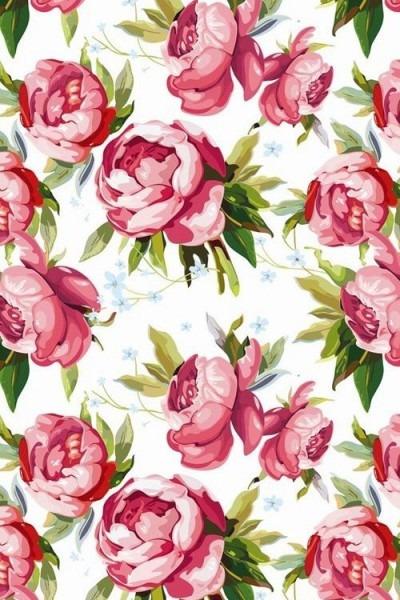 Papel De Parede Estampa Floral  Mobilewallpapers