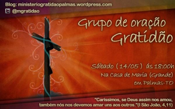 Grupo De Oração Gratidão – Dia 14 05 2011