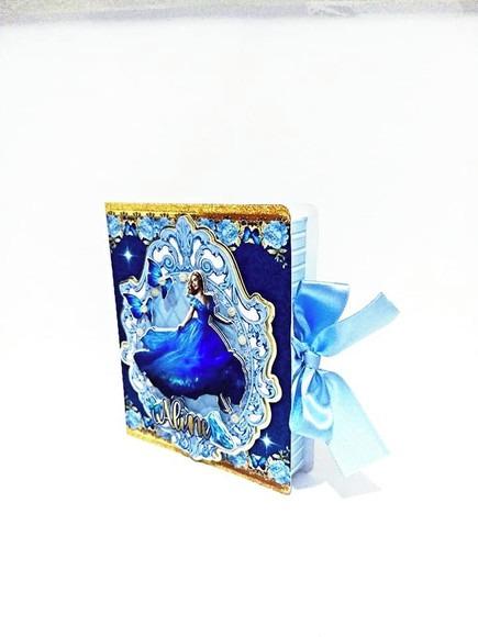 Convite Aniversário Cinderela Luxo