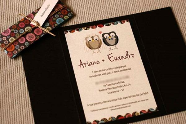 Usando A Imaginação Nos Convites De Casamento!