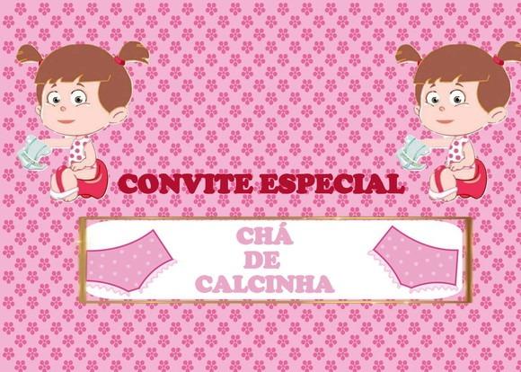 Convite Chá De Calcinha