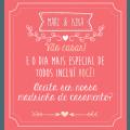 Convite Daminha E Pajem Editavel