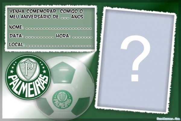 Convite De Aniversario Do Palmeiras » Happy Birthday World
