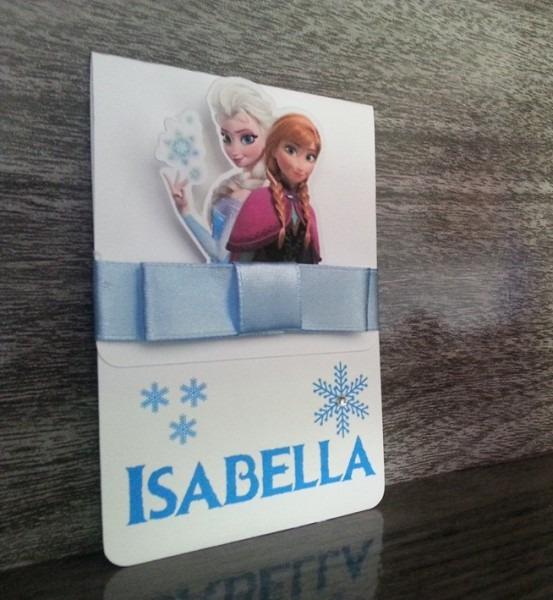 Convite De Aniversário Frozen No Elo7