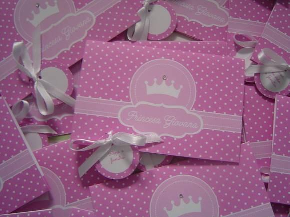 Convite De Aniversário Princesa No Elo7