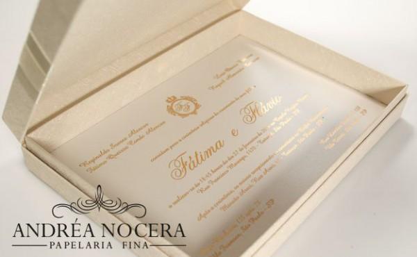 Convites De Casamento Sofisticados E Modernos