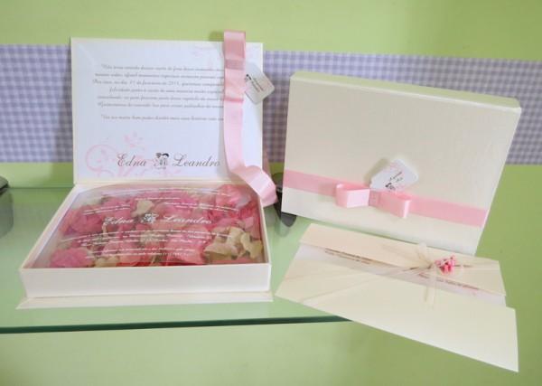 Convite Box Para Casamento
