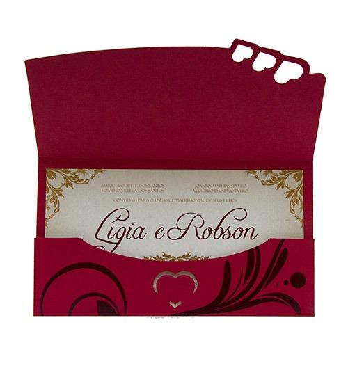 Convite Especial Papel Color Plus Com Estampa Floral