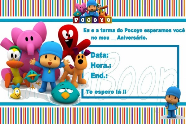 Festa Pocoyo