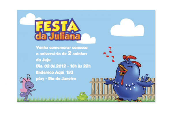 Juliana – Galinha Pintadinha
