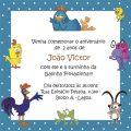 Modelo Convite Galinha Pintadinha