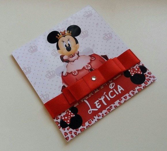 Convite Minnie 05