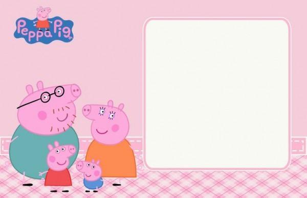 Convite Peppa Pig  Prontos Para Imprimir!