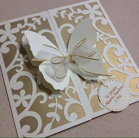 Convites Casamento 15 Anos Rendado