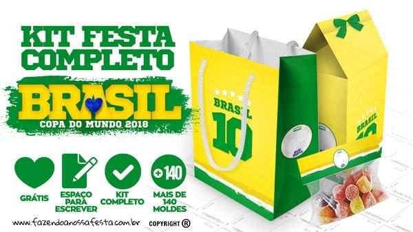 Copa Do Mundo Kit Festa Grátis Para Baixar E Imprimir Em Casa