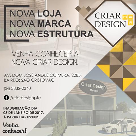 Convite  Venha Conhecer A Nova Loja Da Criar Design