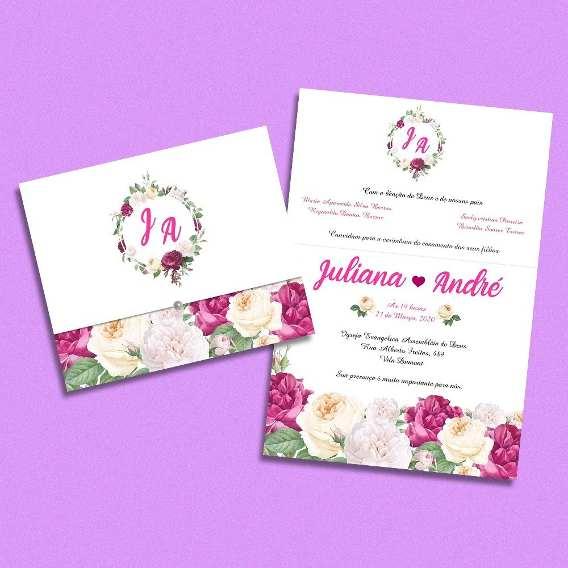 Convites Casamento Simples Criativo Ceara Coreau