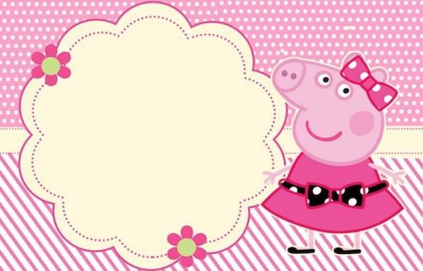 40 Convites Da Peppa Pig E George Continue Vendo