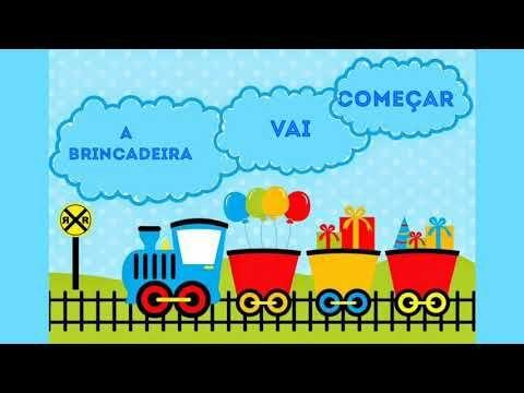 Convite Animado Brinquedos Pronto Para Baixar E Editar