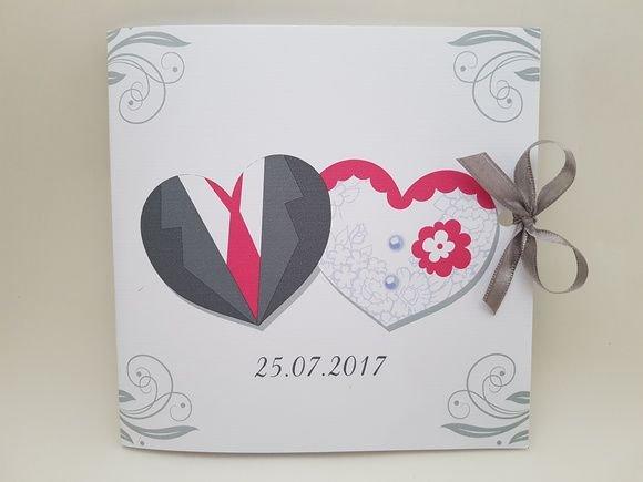 Convite Casamento Noivos Coração