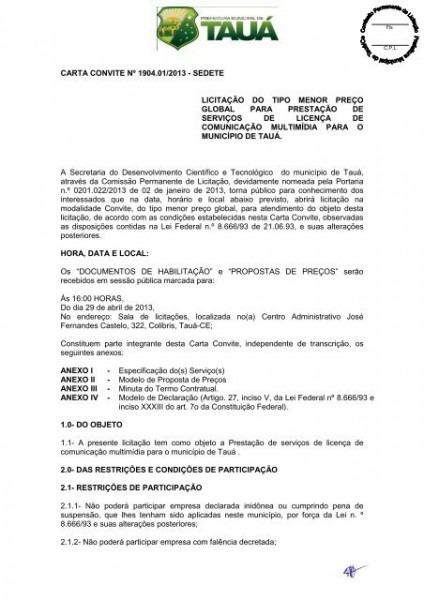 Edital E Anexos Cc 1904 01 2013