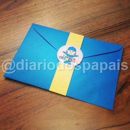 Envelope Convite Aniversario Pocoyo