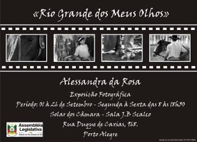Mundo GaÚcho  Convite Exposição Fotográfica Rio Grande Dos Meus Olhos