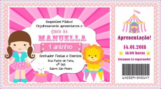 Festa Circo Rosa – 65 Inspirações Fofíssimas Com Dicas Inéditas!