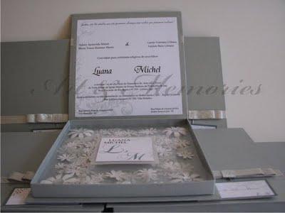 Convites Box De Casamento