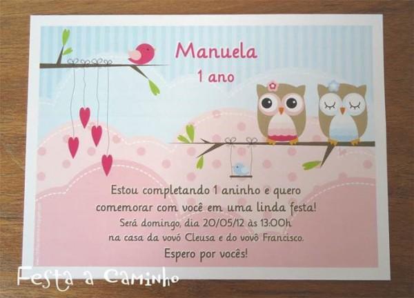 Frases Para Convite De Aniversario 1 Ano 2 » Happy Birthday World