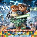 Convite Star Wars Lego