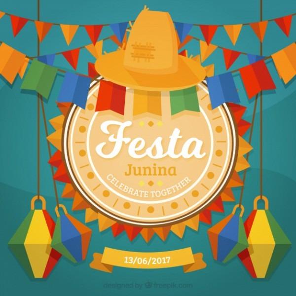 Fundo Decorativo Da Festa Junina