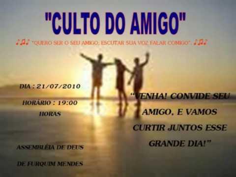 Convite Do Dia Do Amigo!
