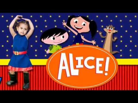 Convite Animado Da Alice