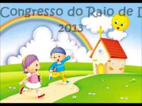 Convite Para O Congresso Infantil Do Raio De Luz