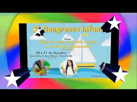Convite Congresso Infantil 2018