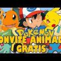 Convite Pokemon Para Editar